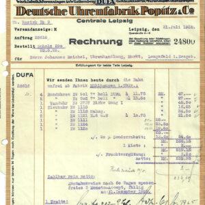 Antike Dokumente & Rechnungen